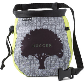 Prana Graphic Chalk Bag with Belt Lime Tree Hugger